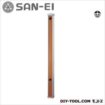 三栄水栓 木目調水栓柱 全面木目調ブラウン T803-60X900-BR