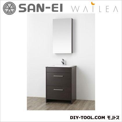 三栄水栓 洗面化粧台  WF014S-600-DB-T2