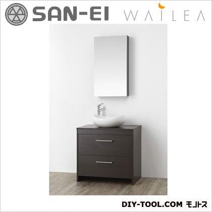 三栄水栓 洗面化粧台  WF014S-750-DB-T2