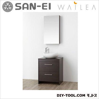 三栄水栓 洗面化粧台  WF015S-600-DB-T4