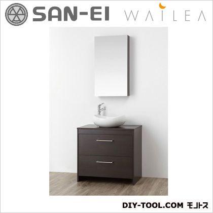 三栄水栓 洗面化粧台  WF015S-750-DB-T3