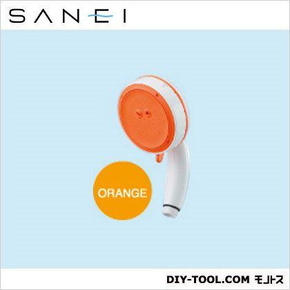 三栄水栓 エステシャワープロ BODY オレンジ (PS3061-80XA-LRY2) SANEI  シャワ補修パーツ シャワヘッド