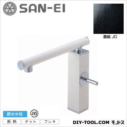 三栄水栓 シングルワンホール混合栓 墨磁 K87310JV-JD-13