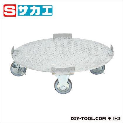 サカエ ステンレス 円形ドラム台車 ステンレス SDR5