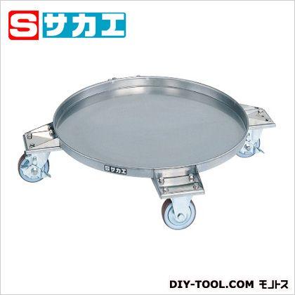サカエ 円形ドラム台車 ステンレスタイプ ステンレス SDR61