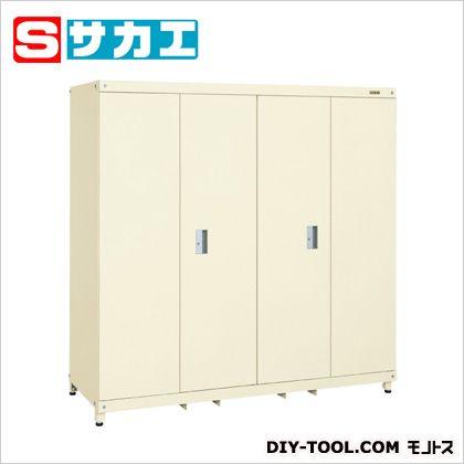 サカエ スーパージャンボ保管庫(折り戸タイプ) アイボリー SKS180H