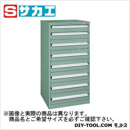 サカエ 重量キャビネットSKVタイプ(W600mm) グリーングレー SKV61283ANG