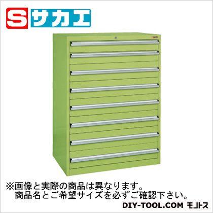 サカエ 重量キャビネットSKVタイプ(W880mm) グリーン SKV81284B