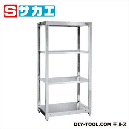 サカエ ステンレスラック(固定式・SUS304) ステンレス SLN9054SU