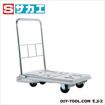 サカエ スタッキングハンドカー(折りたたみハンドルタイプ) グレー SPD720