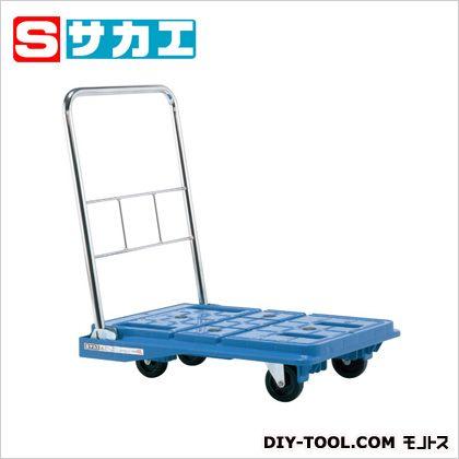 サカエ スタッキングハンドカー ブルー SPD720BSC