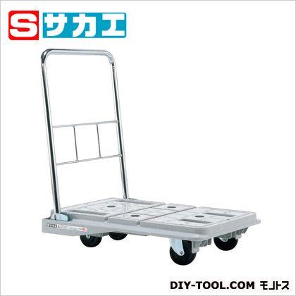 サカエ スタッキングハンドカー(折りたたみハンドルタイプ) グレー SPD720C