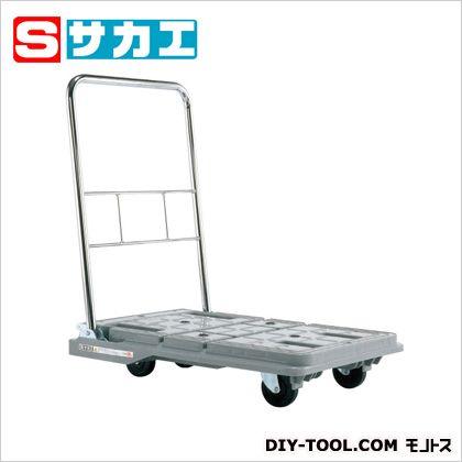 サカエ スタッキングハンドカー グレー SPD780