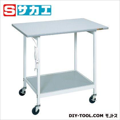 サカエ 実験テーブル グレー SR096