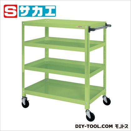 最安値 グリーン SHOP SSW446R:DIY サカエ FACTORY ONLINE スーパースペシャルワゴン(ゴム車)-DIY・工具