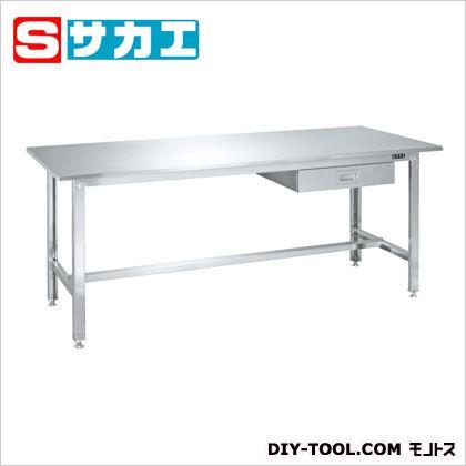 サカエ ステンレス作業台 ステンレス (SUS4A187LC) 作業台 ステンレス作業台 作業 万能作業台