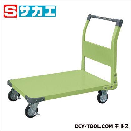 サカエ 特製四輪車(固定ハンドルタイプ) TAN55