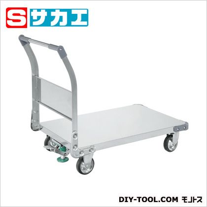サカエ ステンレス特製四輪車(SUS304) ステンレス TAN55FSU