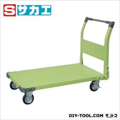 サカエ 特製四輪車(固定ハンドルタイプ) TAN66