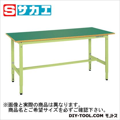 【超新作】 SHOP サカエ FACTORY ONLINE TCK127F:DIY 軽量高さ調整作業台TCKタイプ グリーン-DIY・工具