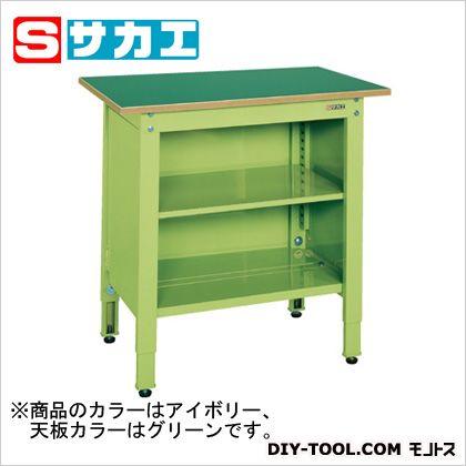 公式の店舗 サカエ 一人用作業台・高さ調整タイプ カラー:アイボリー TCP096TI サカエ、天板カラー:グリーン TCP096TI, モトノムラ:6e3c70fa --- totem-info.com