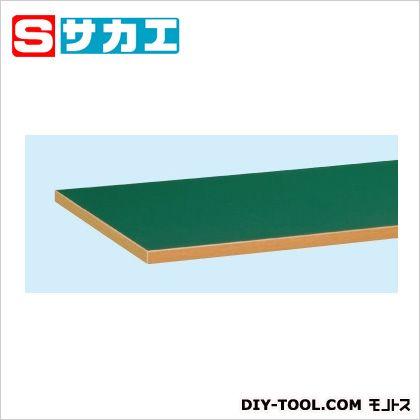 サカエ オプション天板 グリーン W7550TSET
