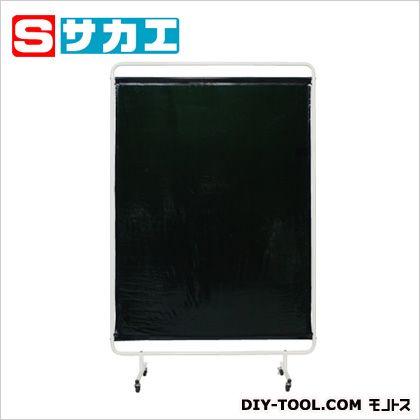 サカエ 遮光スクリーン 移動式 ダークグリーン (YSH13GC)