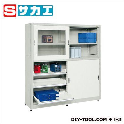サカエ キャビネット保管システム・ボールスライドレール仕様 W1714×D525×H1840mm (B18GAGY) sakae 工具箱・ツールボックス 大型 据え置き・車載用