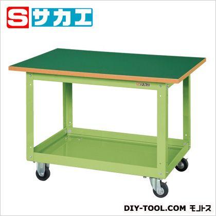 大きな取引 SHOP 作業台 グリーン CSスーパーワゴン ONLINE サカエ FACTORY (CSW756T) ステンレス作業台 作業 万能作業台:DIY-DIY・工具