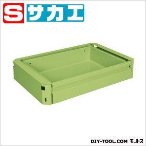 サカエ スーパー・スーパースペシャルワゴン用キャビネット グリーン EMCSET