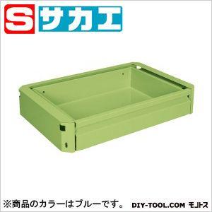 サカエ スーパー(スペシャル)ワゴン用キャビネット ブルー EMCSETBL