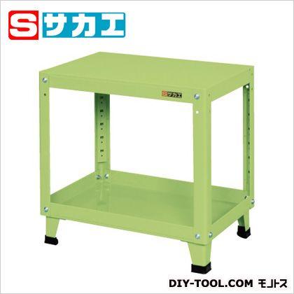 サカエ スーパーワゴン 固定タイプ グリーン (KMN156) 作業台 ステンレス作業台 作業 万能作業台