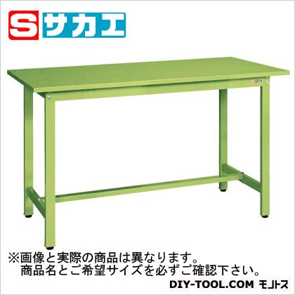 サカエ 軽量立作業台KSDタイプ グリーン KSD156S