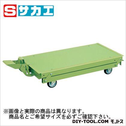 サカエ 作業台オプションペダル昇降台車 KTW157DPS