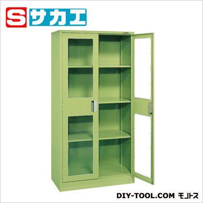 サカエ 大型保管庫(アクリル扉 棚板3段) KU81M