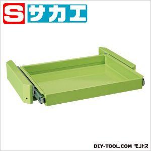 サカエ スーパースペシャルワゴン用オプション・スライド棚セット グリーン MAS1SET