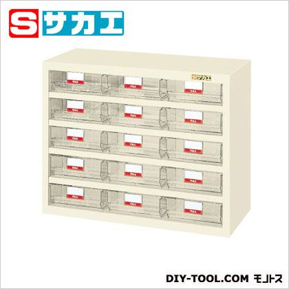 サカエ ハニーケース(樹脂ボックス) アイボリー HFS15TI