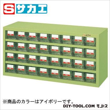 サカエ ハニーケース(樹脂ボックス) アイボリー HFW32TI