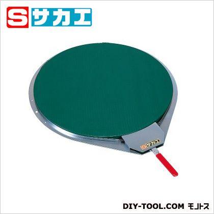 サカエ クルクル回転盤(ゴムマット・バンド式ハンドストッパー付) グリーン KH510