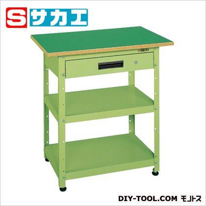 贅沢屋の サカエ SHOP PHN075A:DIY FACTORY ONLINE 一人用作業台PHNタイプ(キャビネット付)-DIY・工具