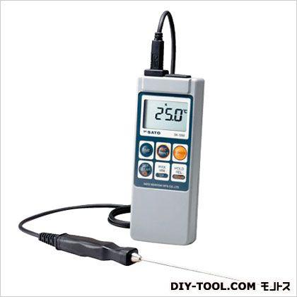 SATO メモリ機能付・防水デジタル温度計/8080-00 SK-1260/HONTAI 1台