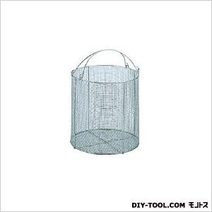 サンワ ステンレス丸型洗浄カゴ 特大 (×1個)  SM40