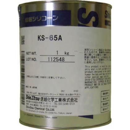 信越化学工業 バルブシール用オイルコンパウンド 1kg KS65A1 1 缶