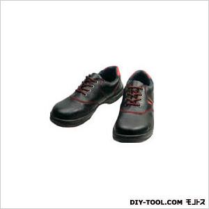 シモン 安全靴 短靴 黒/赤 23.5cm (SL11R23.5)