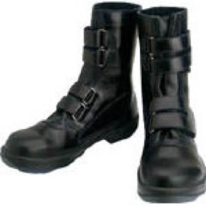 シモン 安全靴 マジック式 8538 黒 25.5cm 8538N25.5