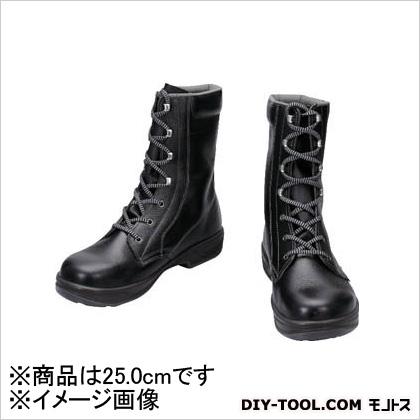 シモン 安全靴 長編上靴 黒 25.0cm SS3325.0