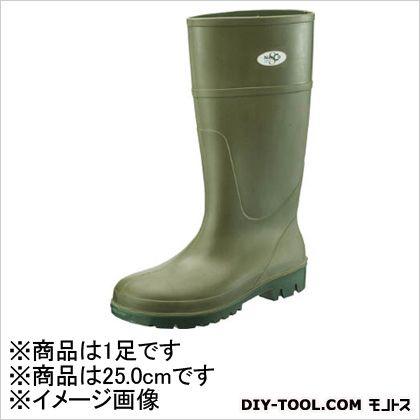 シモン 安全長靴 ソフタンブーツ 25.0cm SFB25.0