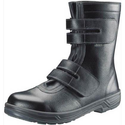 シモン 安全靴 長編上靴マジック式 SS38 黒 27.5cm SS3827.5 1 足