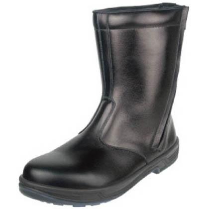 シモン 安全靴 半長靴 8544 黒 24.0cm 8544BK24.0 1 足