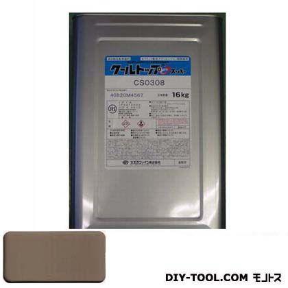 スズカファイン クールトップSiスーパー 太陽熱反射塗料 16kg CS3856